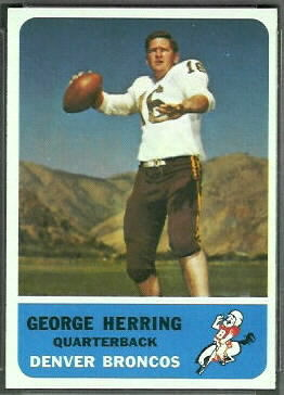 Long before Tebow, there was Herring
