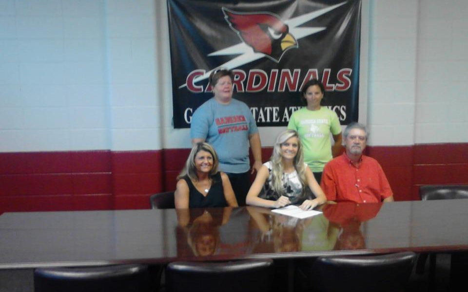 Sardis' Holliday signs with Lady Cardinals