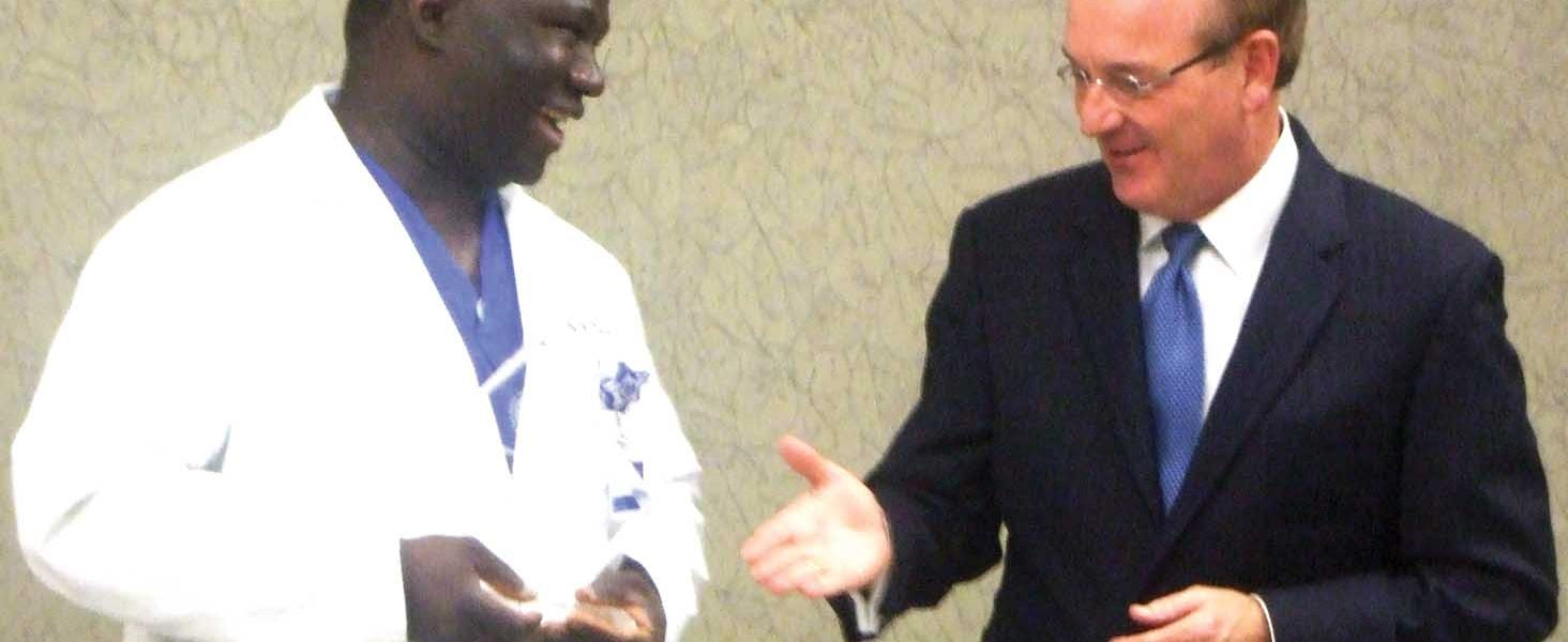 Dr. Djiby Diop named Medical Director of the Year