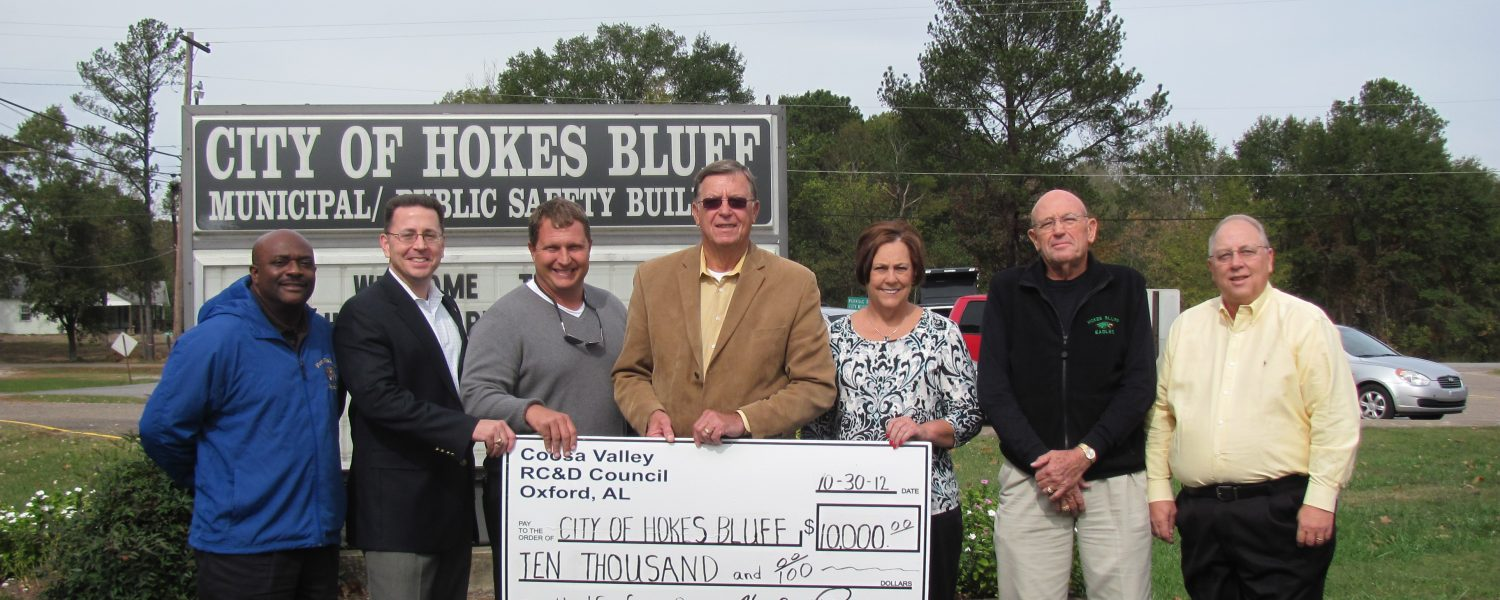 Hokes Bluff receives funds for park work