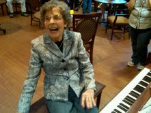 Marking 101 years of life -- 96 years at the piano