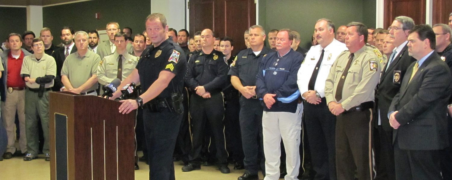 Law enforcers join forces to combat bills
