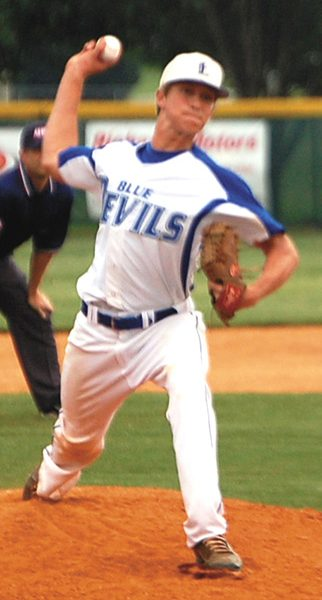 Blue Devil hurler signs with Snead State