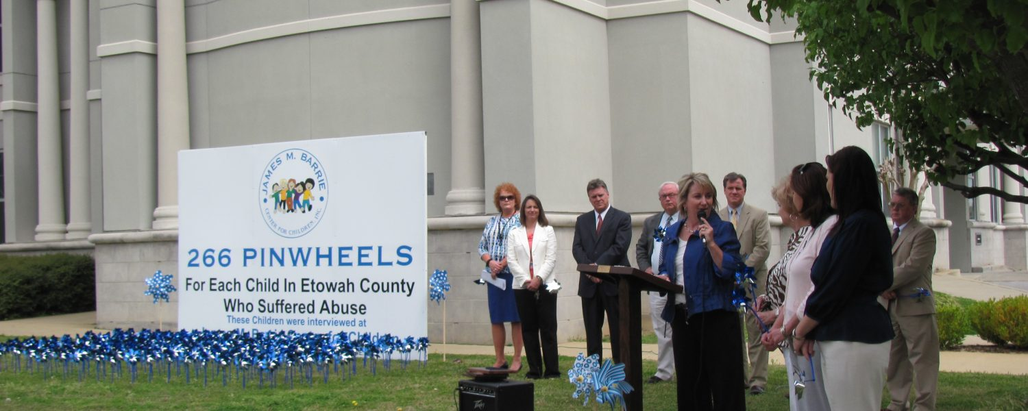 Pinwheels recognize hundreds touched by child abuse