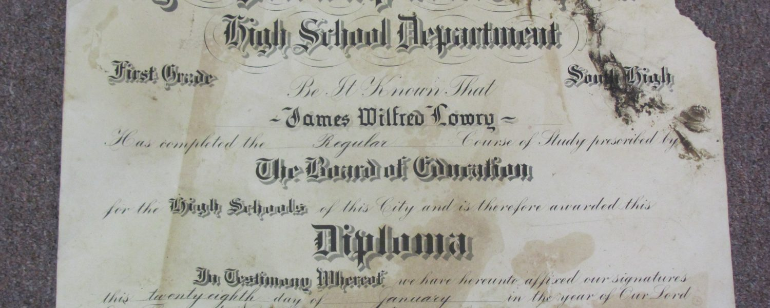 RBC residents find diploma after storm