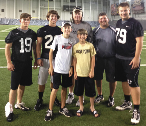 Southside High trio attends football camp at West Point