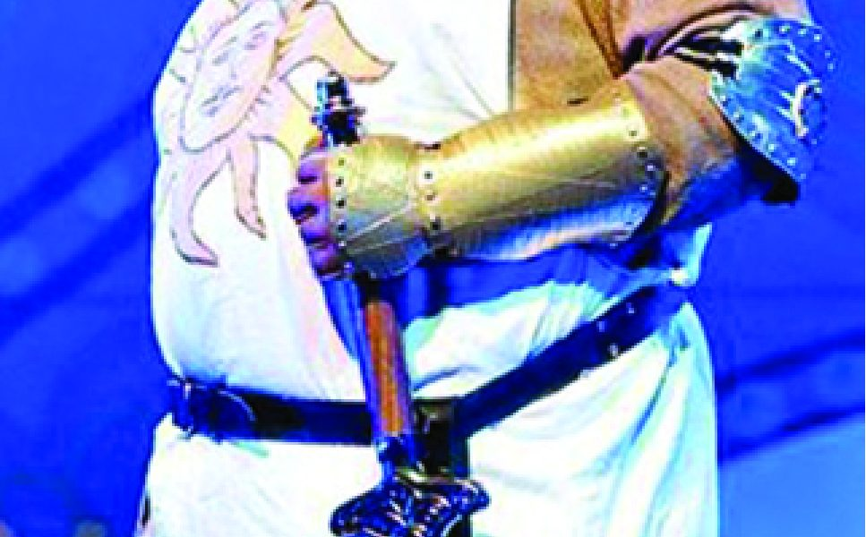 Monty Python's 'Spamalot' on stage at GSCC