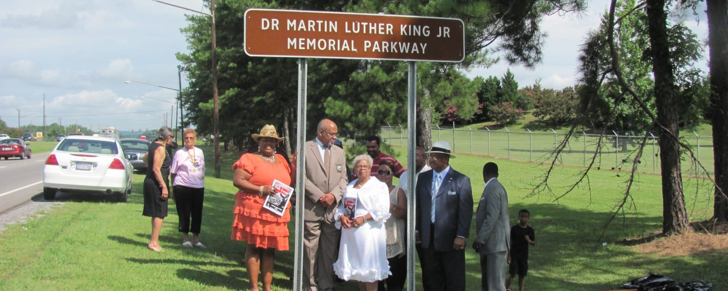 Sign unveiled, local Civil Rights leaders honored