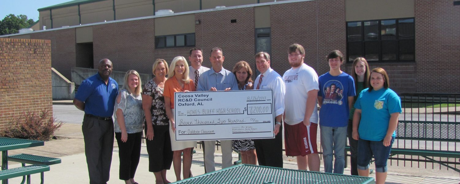 Hokes Bluff projects for city, school enabled by grants