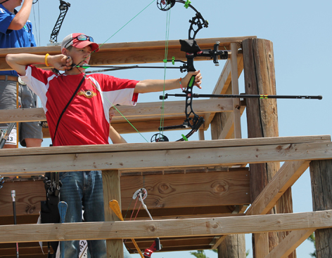 Local archers shine at national tourney