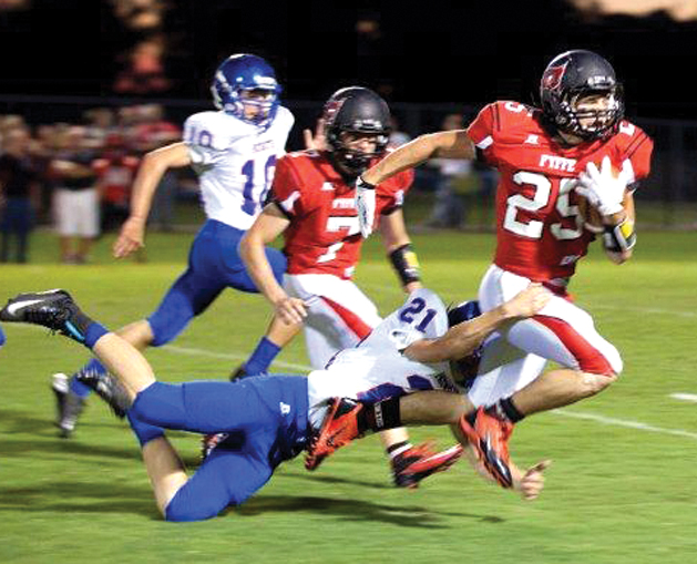 Patriots fall short at Fyffe