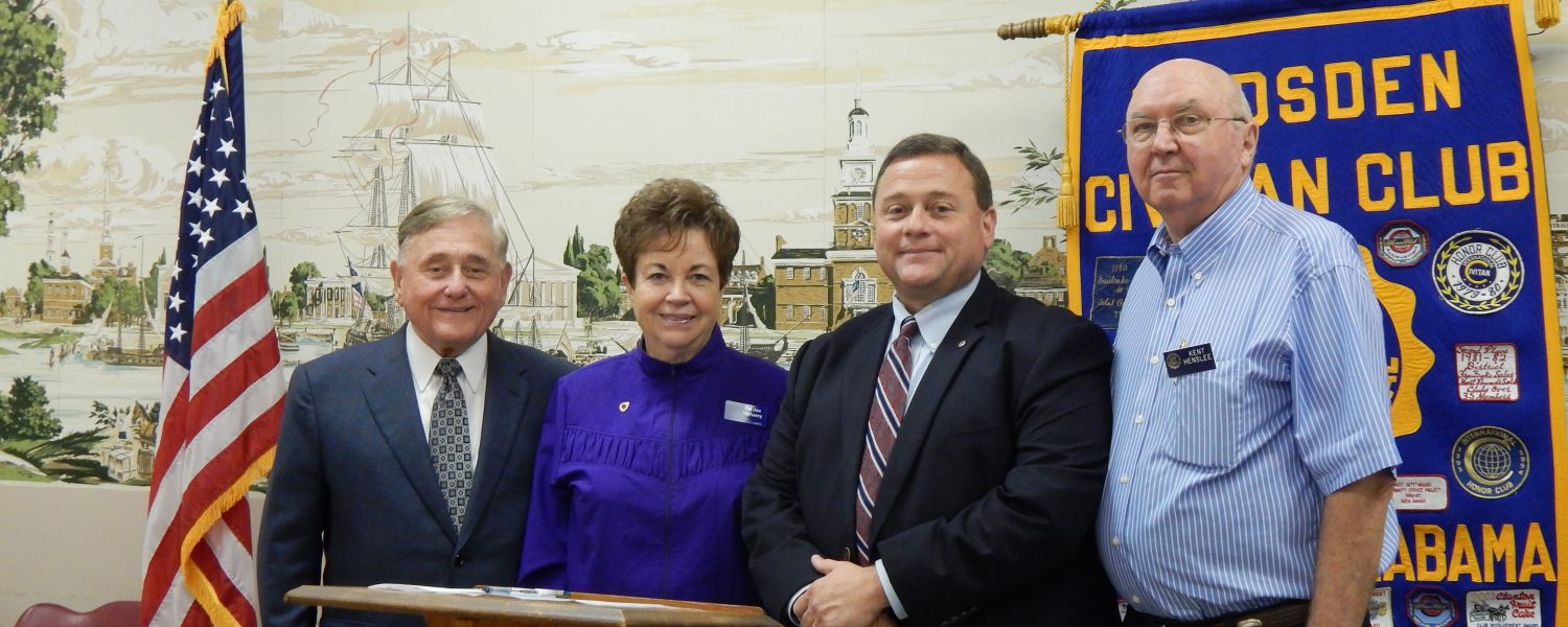 Floyd installed as Civitans' president