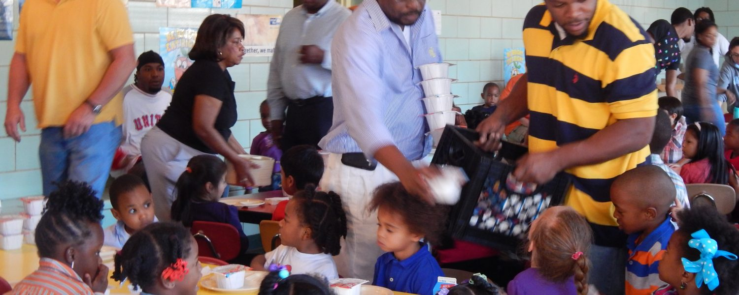 J.W.Stewart Headstart program hosts Day with Dad