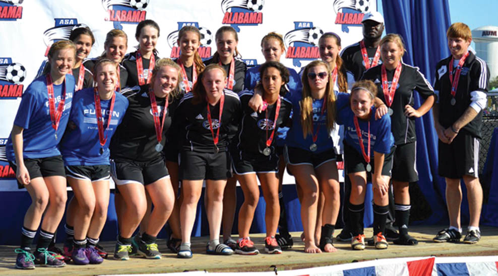 Lady Fusion 98 finishes second in state