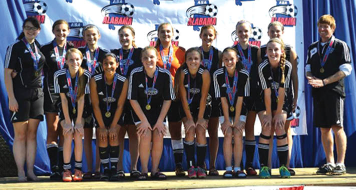 Lady Fusion 99 win state title