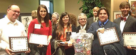 GSCC students, instructors receive ACCS Chancellor's awards