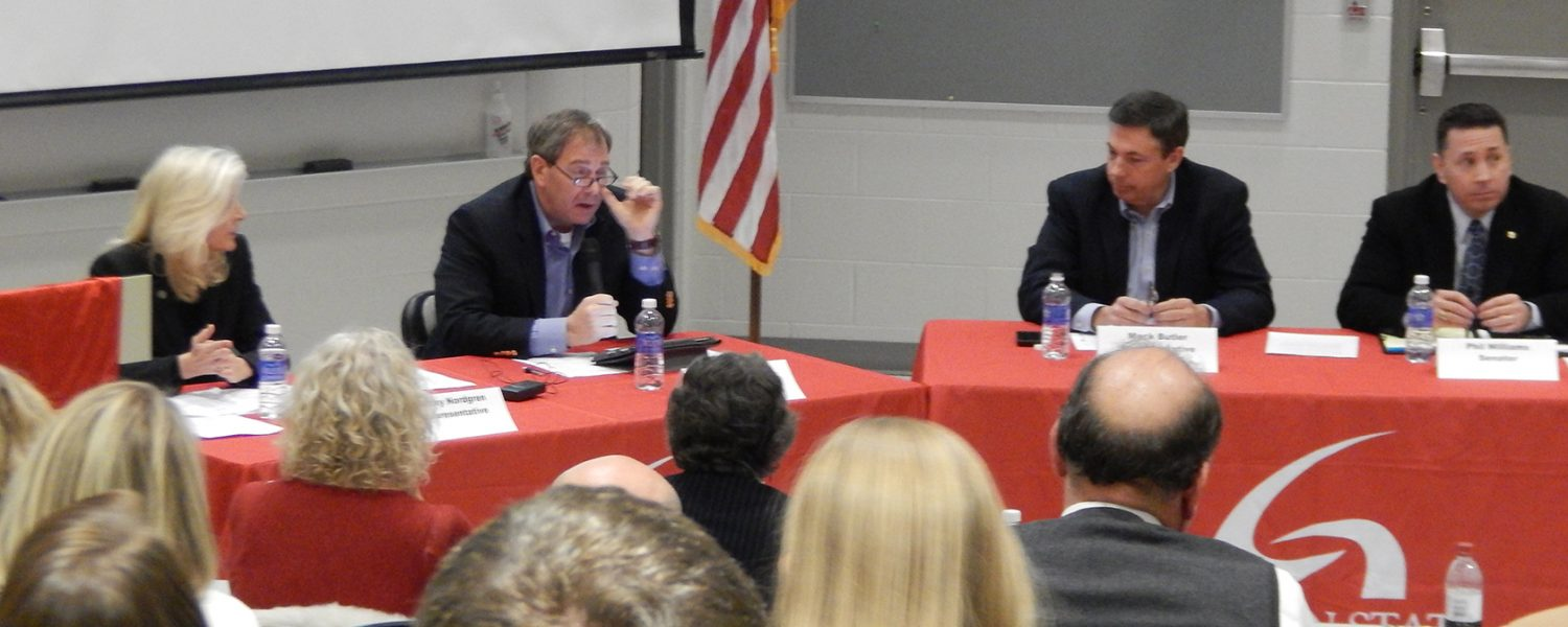 Lawmakers, educators engage in public forum