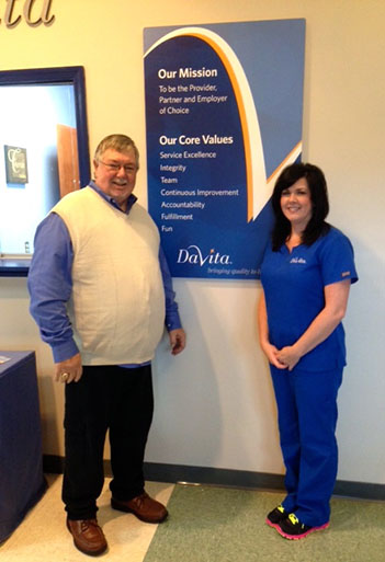 DaVita Rainbow City Dialysis accommodates working patients