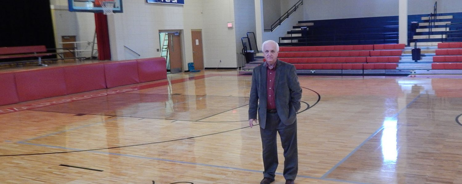 Retired headmaster holds court at Westbrook