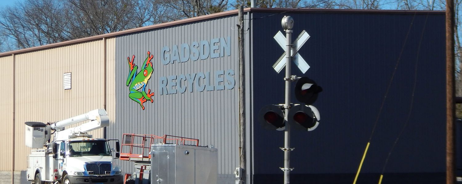 City of Gadsden opens expanded recycling center