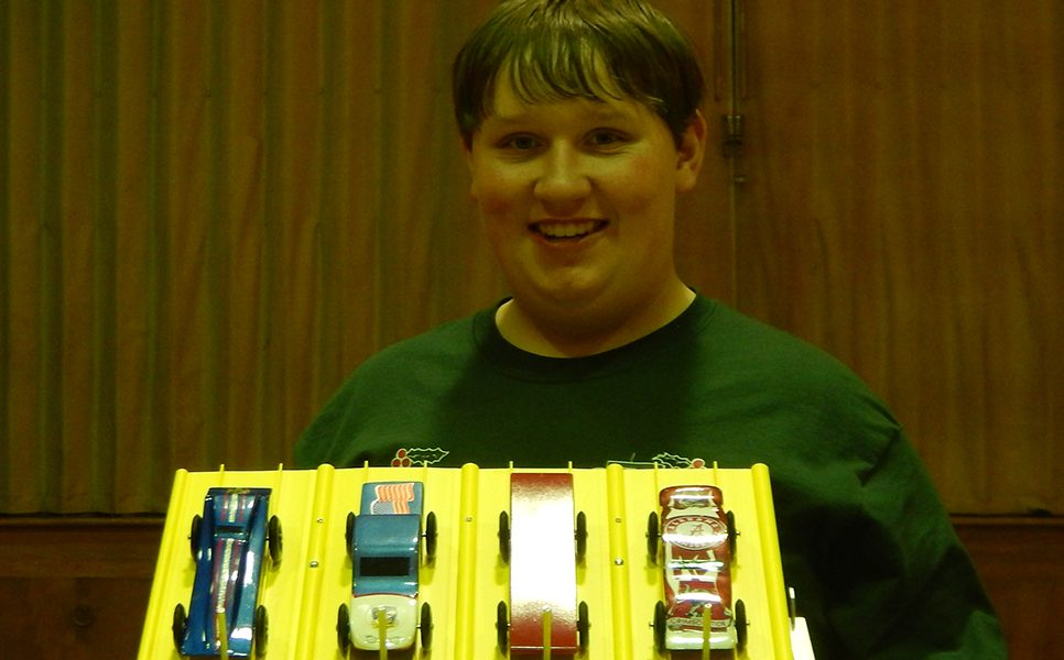 Pinewood Derby race to be run on March 1