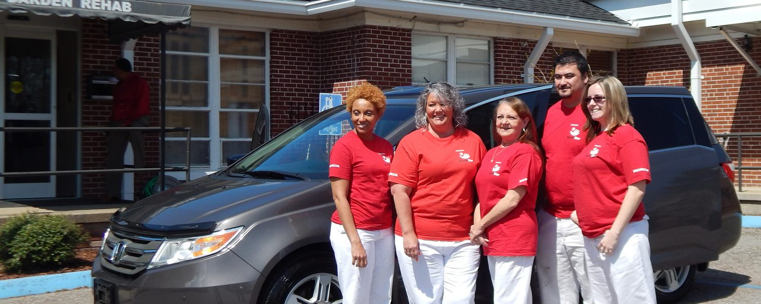 Darden Rehabilitation Foundation receives van from Honda
