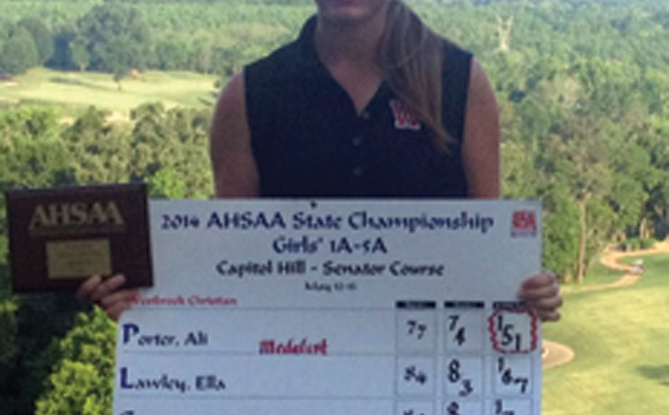 Westbrook Christian boys tie for 2nd, girls take 3rd at state golf tournaments