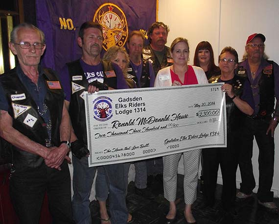 Riders raise money for charity