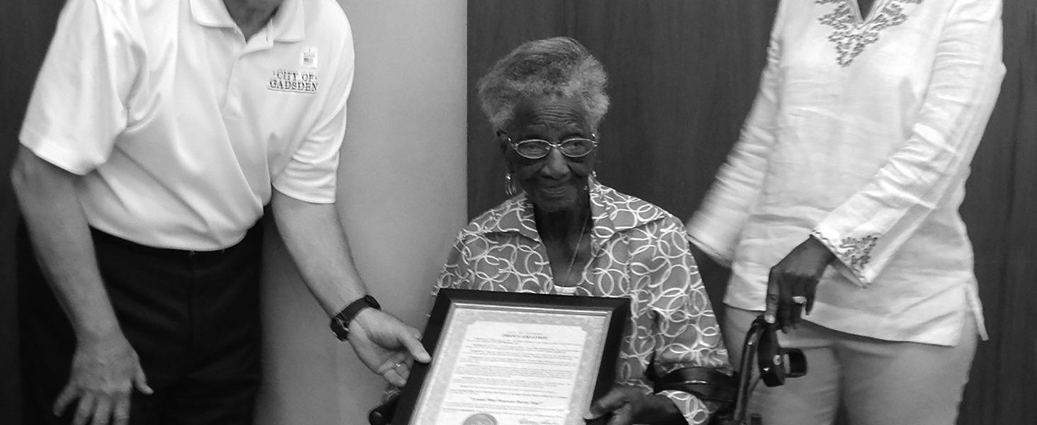 Lessie Mae: honored by all as she celebrates 100 years