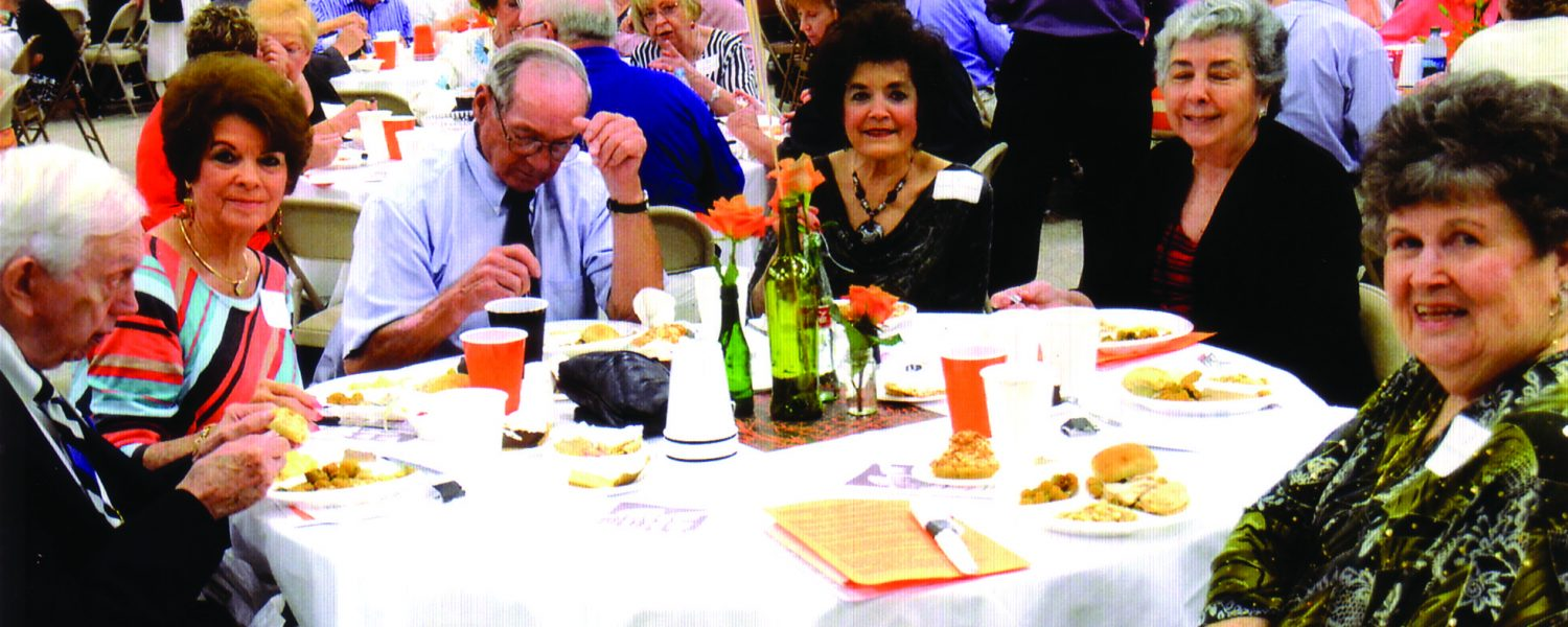 The Gold Tiger Club's eighteenth anniversary celebrates the class of 1964 with a reunion
