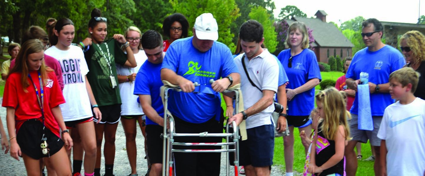 Local coach taking recovery step by step