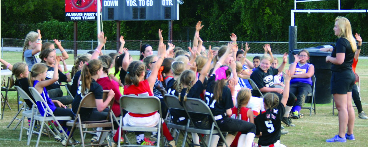 Camp empowers student athletes
