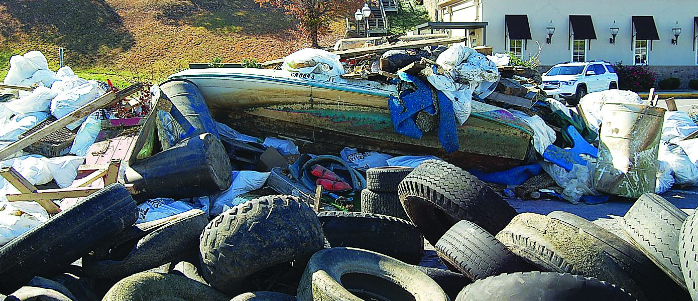 Renew Our Rivers cleans out the Coosa River