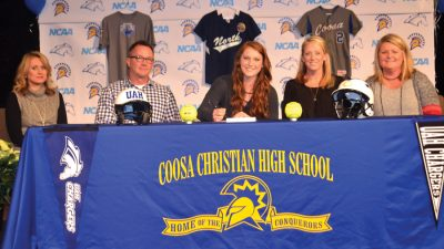 Coosa's Hampton signs with UAH