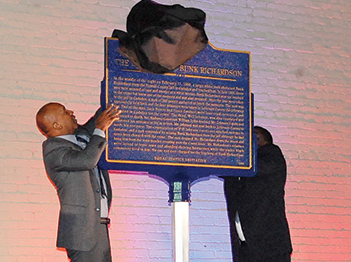 Historic marker to remember lynching victim