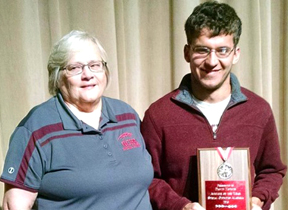 Gadsden City student named athlete of the year