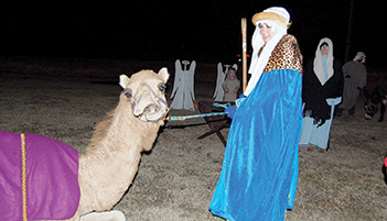 Live Nativity held at Rainbow City Hall