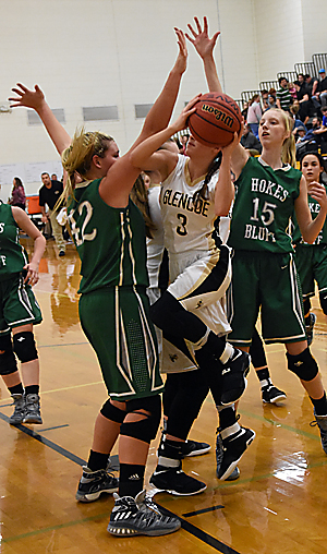 Lady Eagles sink Glencoe in county semifinals