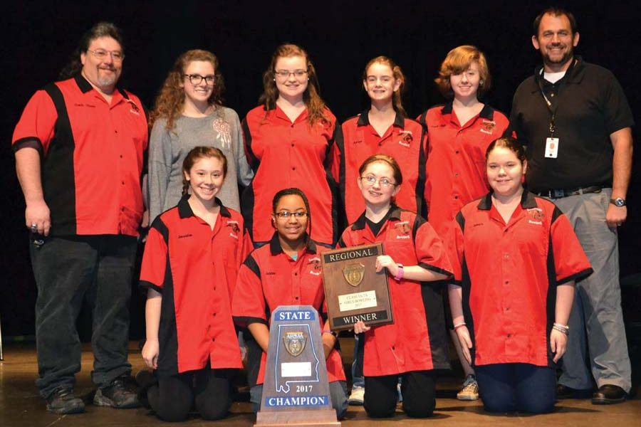 Lady Panthers win state bowling title