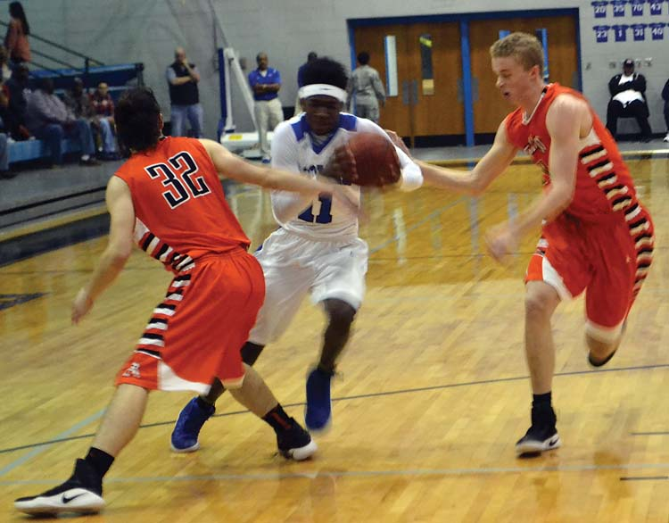 Blue Devils hold off Alexandria in area title game