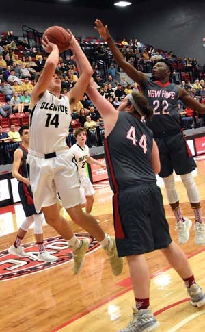 Buzzer-beating trey ends Glencoe's season at regionals