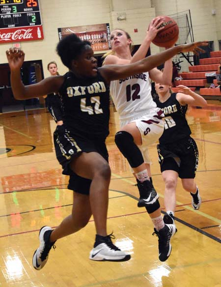 Lady Panthers dismantle Oxford in area title game