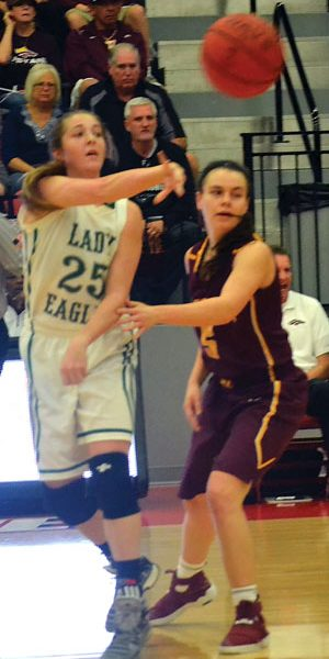 Lady Eagles come up short in regional semifinals