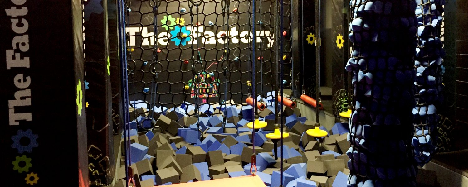 Ninja course opens at The Factory