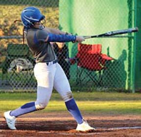 Conquerors' Hampton ties AHSAA softball record