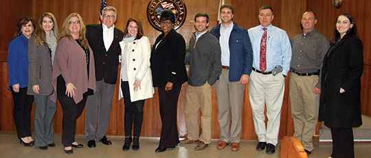 Leadership Etowah visits local government