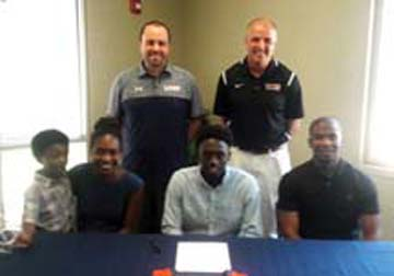 Westbrook's Jones signs with Wallace-Hanceville