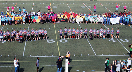 GCHS hosts Etowah County Special Olympics