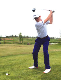 Westbrook golfer named player of the year