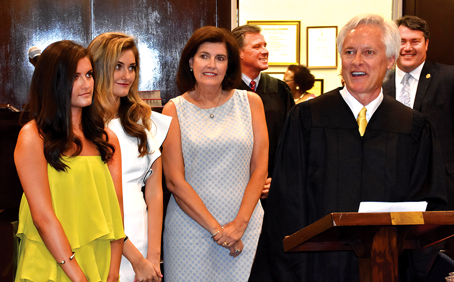 Day sworn in as circuit court judge